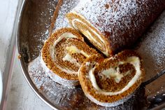 Gluten Free Pumpkin Roulade Cake