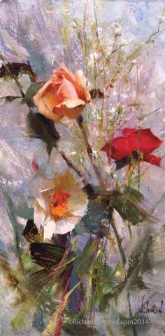 17 Best images about richard schmid Paintings I Love, Watercolor Paintings, Floral Paintings, Oil Painting For Beginners, Acrylic Flowers, Types Of Painting, Still Life Art, Art Oil, Floral Watercolor