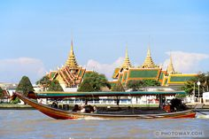 Bangkok - so much to see and do!  We did this river cruise too - beautiful.