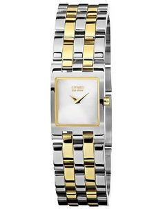 Citizen Eco-Drive Jolie Two-Tone Ladies Watch - Silver/White Dial