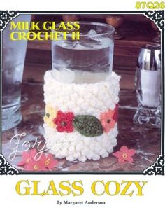 Glass Cozy Jacket Annie's Milk Glass Crochet Pattern | eBay