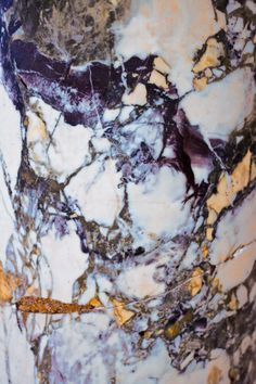 Marble with gold vein