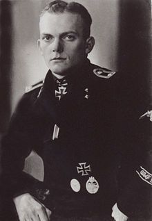 "SS-Oberscharfuhrer Richard Rudolf served with the 12th SS Panzer Division,""Hitlerjugend"" He was awarded Knights Cross for outstanding bravery in repelling enemy attacks in Caen sector/Normandy. He knocked out numerous Allied tanks in the fighting. Later fought in Ardennes Offensive. Also received German Cross in Gold."