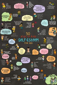 50 Ways to Build Self-Esteem for kids! Fun school counseling lesson and art ther… 50 Ways to Build Self-Esteem for kids! Fun school counseling lesson and art therapy project using fortune tellers. Education Positive, Kids Education, Education Policy, Social Emotional Learning, Social Skills, Kids And Parenting, Parenting Hacks, Parenting Plan, Gentle Parenting