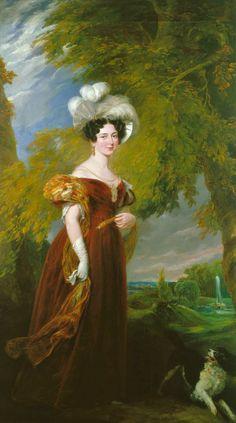 Victoria of Saxe Coburg Saalfeld, Duchess of Kent, George Hayter, 1835