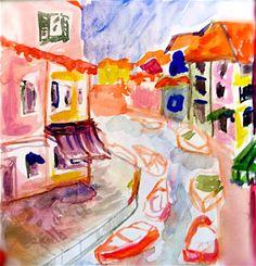 blondelasagna:    Italy  -via my florence sketchbook