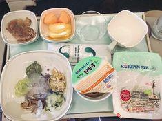 #great and #delicious Korean food from Korean Air @koreanairworld - #imenehunes #food #koreanfood #fun #flight #awesomeflight #flying #aviation #safeflight #relax #plane #koreanair #koreanairlines #airplane #exciting #awesomeride #lovekoreanair