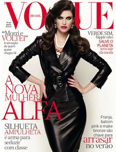 Vogue Brasil August 2012 Cover - Bianca Balti