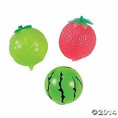 Fruit Splat Balls
