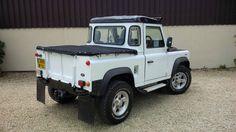 1988 LAND ROVER DEFENDER 90 300TDI WHITE | eBay