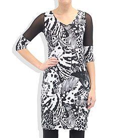 Jersey Mesh Angie Dress
