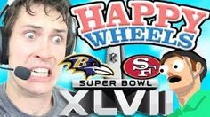 Happy Wheels - SUPERBOWL CAN WAIT, via YouTube.