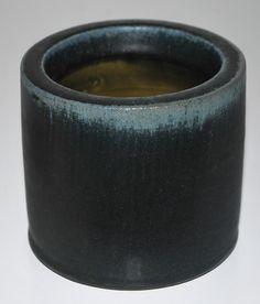 Eigil Hindrichsen, vase in stoneware, own studio Denmark.