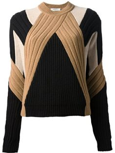 GIVENCHY Multi-Panel Knit Sweater