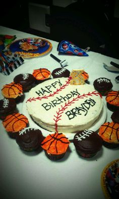 """for my baby boys """"sports"""" birthday party =)"""