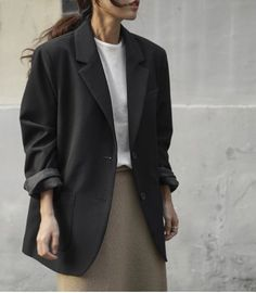 Mode Outfits, Office Outfits, Fashion Outfits, Blazer Outfits, Casual Outfits, Cute Fashion, Fashion Looks, Mode Simple, Parisienne Chic