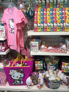 Hello Kitty Stuff at Dylan's Candy Bar at The Grove #hellokitty #sanrio #dylanscandybar #hellokitty40th