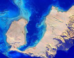O Mar Vermelho visto do espaço. Veja outras fotos incríveis feitas pelo astronauta Scott Kelly