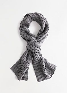 Merino Cablelink Scarf