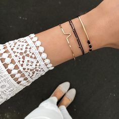 Amsterdam Bracelet - black