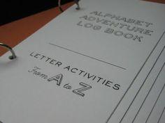 Alphabet book log
