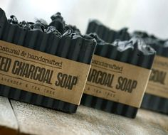 ACTIVATED CHARCOAL SOAP~Detox Soap~Organic Soap~Lavender soap