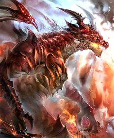 Dragon Base, Dragon Rpg, Fantasy Dragon, Red Dragon, Fantasy Art, Dragon Images, Dragon Pictures, Angel Pictures, Fantasy Creatures