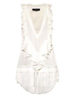 Rafael ruffle-detail dress | Isabel Marant | http://www.shopstyle.com/action/loadRetailerProductPage?id=469193935&pid=uid2900-23886230-59