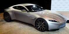 The stunning Aston Martin DB10 is set to be driven by Daniel Craig in the new James Bond film, SPECTRE. The car is limited to 10 examples, the movie hits theaters in November 2015.