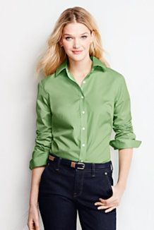 Women's Long Sleeve Shirts & Blouses from Lands' End