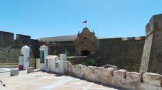 Castillo de Santa Catalina en Cádiz, Andalucía
