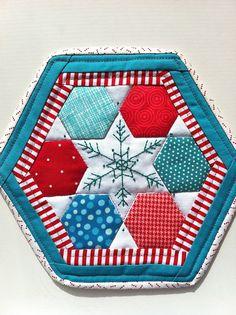 christmas mug rug | Christmas Mug Rug Pattern