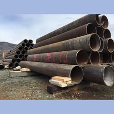 12 in. diameter.  1400 ft. available.  Schedule 80.  Extra heavy.  Bare, clean, no rust.  8 ft. - 17 ft. lengths.    View more Steel Pipe