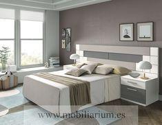Dormitorios Modernos Lanmobel - Composición 03 Cabecero Norah - Catálogo Muse - Mobiliarium