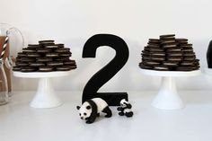 Super Cute and Creative Panda Party by Little Paper Plate Events