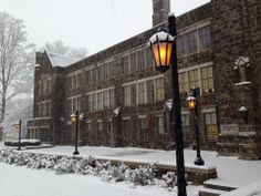 The Old Main Terrace at Westminster College in New Wilmington, PA