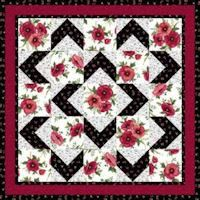 Missouri Quilt Patterns to Print - Bing images Mini Quilts, Easy Quilts, Small Quilts, Colchas King, Quilting Projects, Quilting Designs, Quilting Ideas, Quilting Patterns, Small Quilt Projects