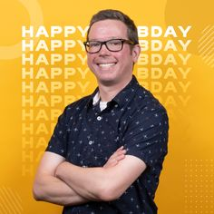 Another happy birthday is in order for Jeremy, a web developer at T&P! We hope you have a fantastic day! Influencer Marketing, Content Marketing, Happy Birthday, Men Casual, Lifestyle, Digital, Mens Tops, Beauty, Happy Brithday