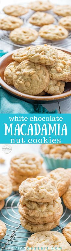 White+Chocolate+Macadamia+Nut+Cookies+with+Coconut+-+this+cookie+is+a+shinning+star+of+the+dessert+tray!+Delicious+jumbo-sized+thick+and+chewy+cookies+that+rival+any+from+the+gourmet+bake+shop.+#savingroomfordessert+#cookies+#macadamianuts+#whitechocolatechip+#dessert+#chewycookies