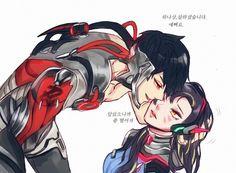 Genji x Hana Overwatch