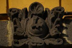 Detalle de casa en la 7 Poniente 302 A Centro Puebla. Mex. Foto tomada por KiraBrilla 13/12/13