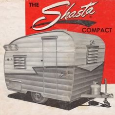Shasta Compact     Explore a vintage travel trailer icon that brings a wave and thumbs up on...