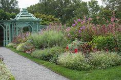 Westbury Flower gardens.