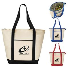 Promotional California Innovations 30-Can Boat Tote Bag #3850-07 #totes #advertising #promoproducts #branding | Customized Tote Bags | Logo Tote Bags