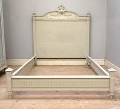 Apartment Perfect / Low foot end antique French bed / Louis XVI style / frenchfinds.co.uk