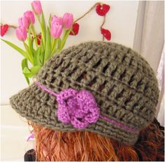 Top 10 Fashionable DIY Hats And Caps (Free Crocheting Patterns)