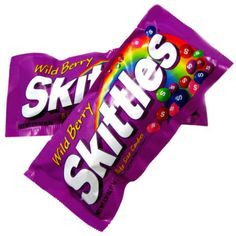The best Skittles flavors ... and my 2nd favorite non-chocolate candy.