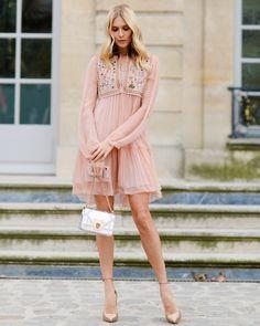 The Best Street Style from Paris Fashion Week Elena Perminova