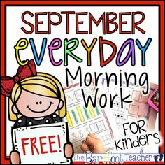 FREE DOWNLOADS! These daily math, literacy, and writing activity worksheets were made, with the Common Core standards in mind, to be independent practice review for Kindergarten students to do as morning work, homework, at a center, or however you would so choose. The repeat exposure to the standards allow students to master skills quickly. A perfect Back to School resource! You can even send a pack home for students to do over summer break. 10 monthly packs are included. That's 260 print…