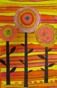 Georgetown Elementary Art Blog Great for a hundertwasser project